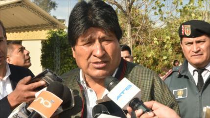 Imperio amenaza a gobiernos antiimperialistas, opina Evo Morales
