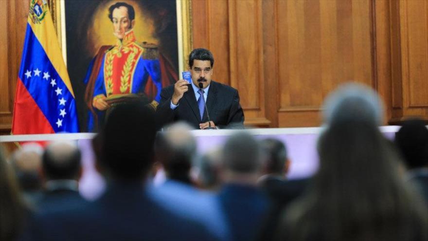 Maduro presenta pruebas del magnicidio frustrado en su contra