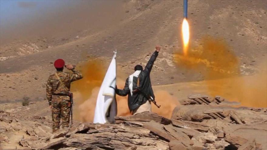 Yemen ataca con misil balístico base militar saudí en Najran