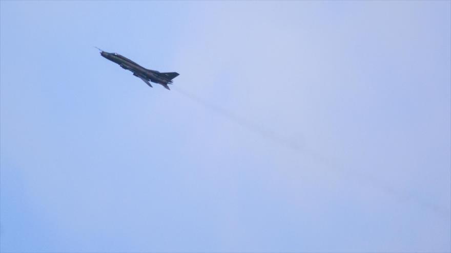 Ataque de cazas sirios mata a 70 elementos de Daesh en Al-Sweida