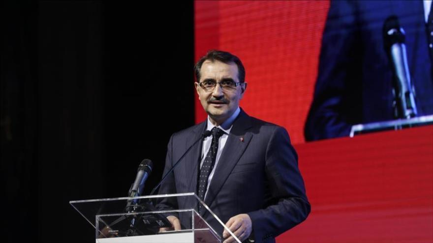 El ministro turco de Energía, Fatih Donmez.