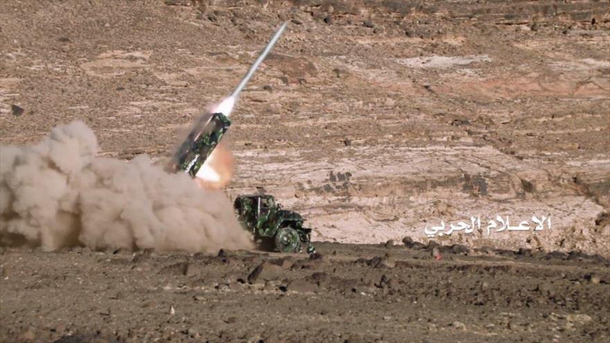 Ejército yemení lanza misil balístico contra zona industrial saudí