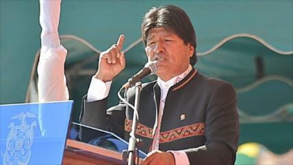Morales acusa a embajada de EEUU de conspirar contra Bolivia
