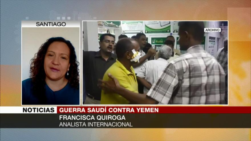 Quiroga: Lógica de Arabia Saudí lleva a exterminio de yemeníes
