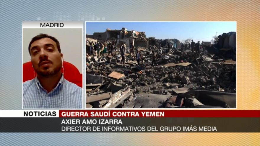 Axier Izarra: Riad busca con sus matanzas en Yemen controlar la región