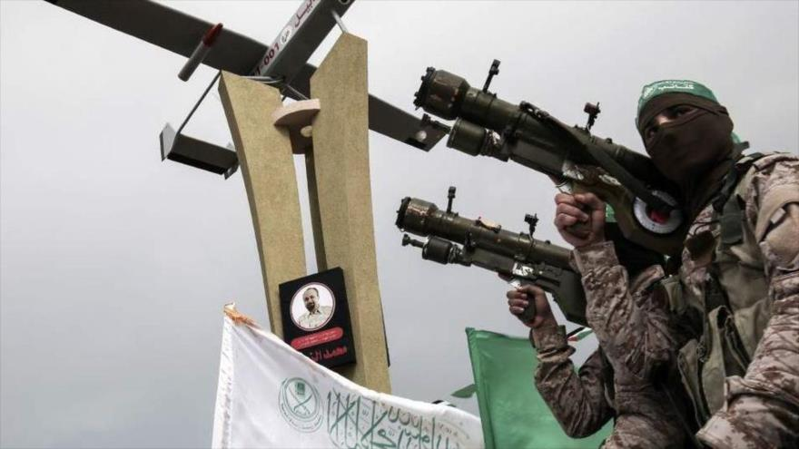 Grupos de Resistencia responden a los ataques israelíes con 220 cohetes