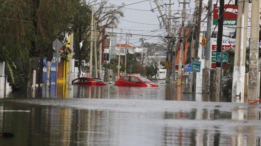Inundaciones en Puerto Rico causadas por el huracán María, septiembre de 2017.