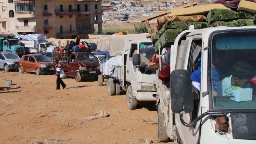 Rusia: 1 000 000 refugiados sirios retornarán a su país en breve