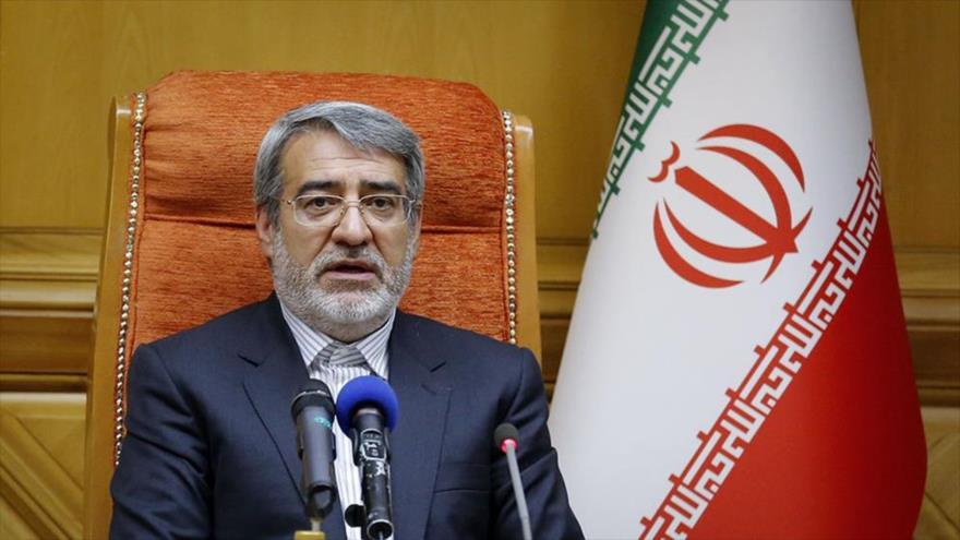 Abdolreza Rahmani Fazli, ministro del Interior de Irán.