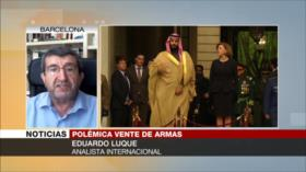 Eduardo Luque: España es cómplice de matanza de yemeníes por Riad