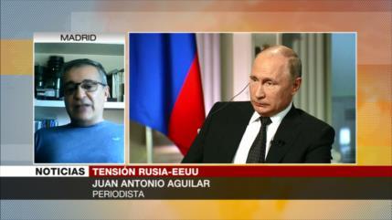 Aguilar: EEUU busca desestabilizar Rusia con guerra económica
