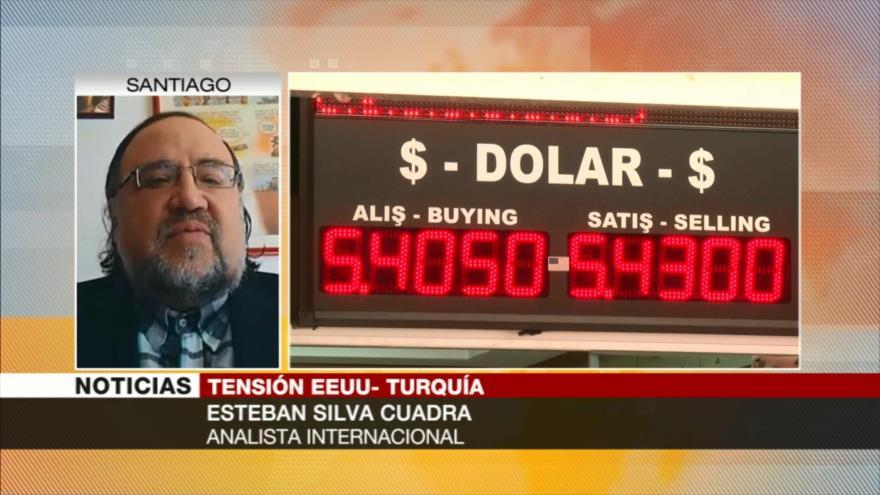 Silva Cuadra: EEUU quiere endeudar a Turquía con el FMI