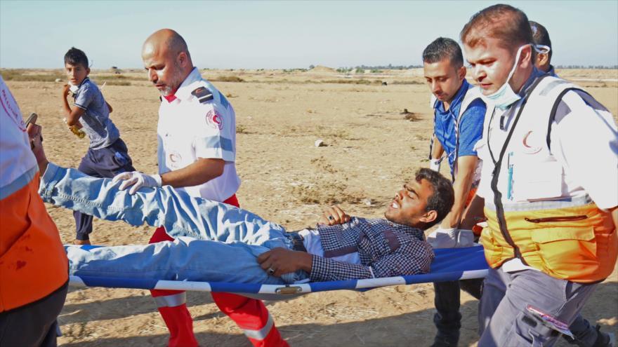 Al menos dos muertos y 242 heridos por fuego israelí en Gaza