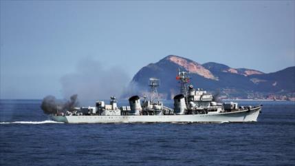 China inicia masivas maniobras navales y Taiwán se pone en alerta