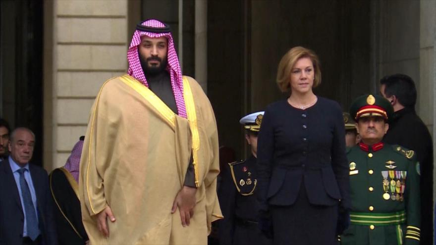 España es cómplice de masacre en Yemen por vender armas a Riad
