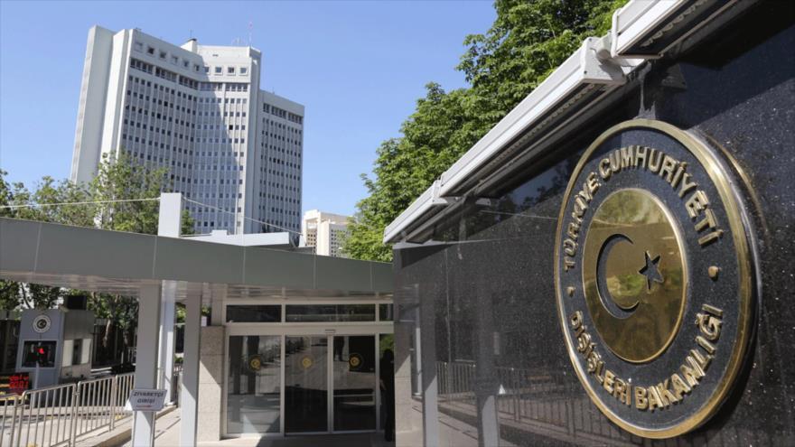 Sede del Ministerio de Asuntos Exteriores de Turquía.