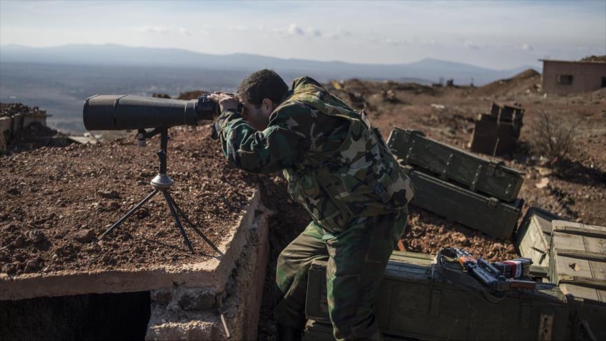 Espías de Ejército actúan detrás de líneas terroristas en Idlib