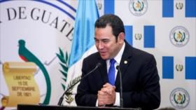 Fiscalía de Guatemala pide antejuicio de presidente Morales