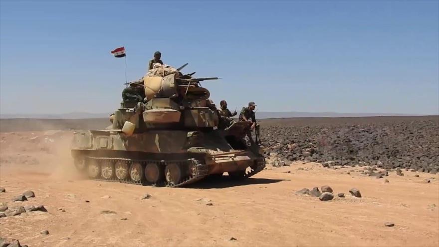 Ejército sirio retoma a Daesh varias presas y colinas de Al-Sweida