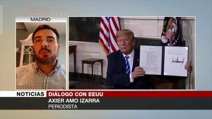 Izarra: No dialogar con EEUU de Trump es muestra de soberanía iraní