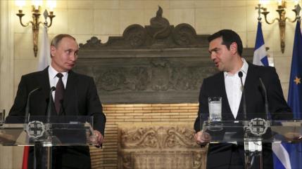 Grecia retira a su embajador en Rusia en plena tensión diplomática