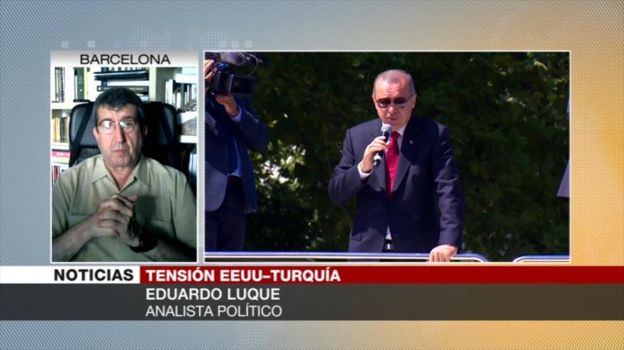 Erdogan dice que boicoteará los productos electrónicos de EE.UU