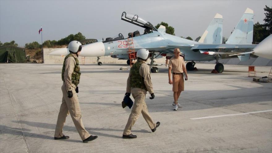 Rusia entrena a dos tercios de su Fuerza Aérea en conflicto sirio