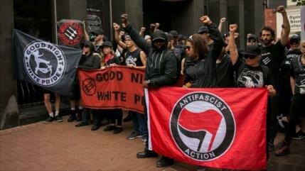Charlottesville contra el racismo bajo fuerte vigilancia policial