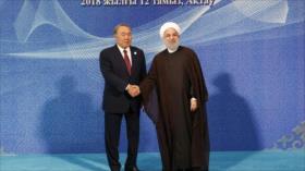 Rohani: ¡NO a la presencia militar de otros países en el mar Caspio!
