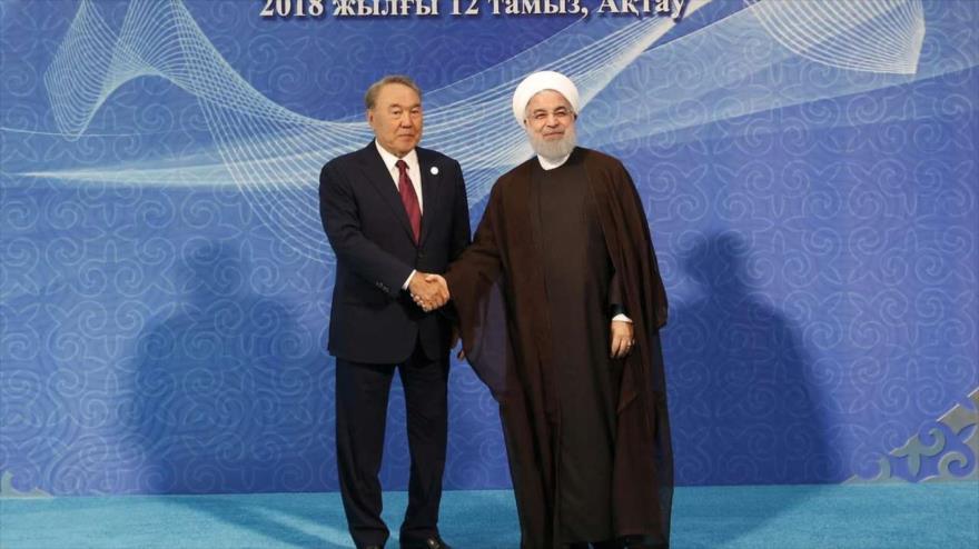Rohani: ¡NO a la presencia militar de otros países en el mar Caspio! | HISPANTV