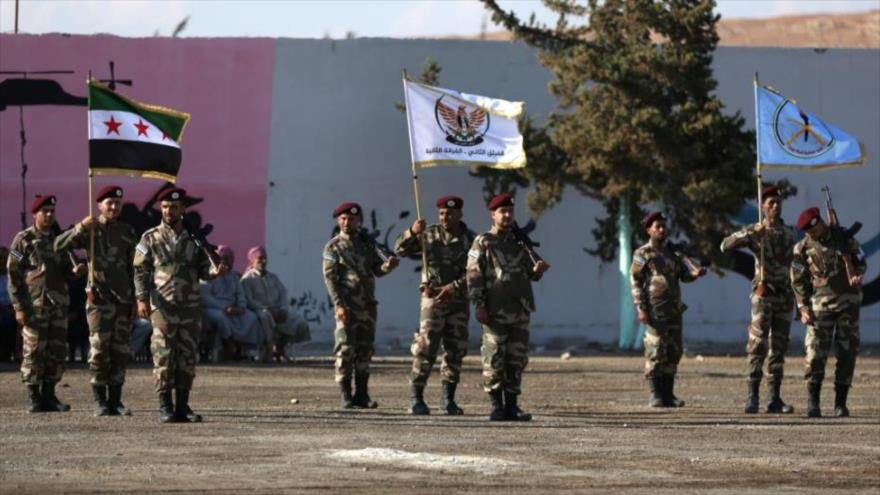 Rebeldes apoyados por Turquía crean un 'ejército' en el noroeste de Siria