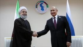 Irán y Rusia se comprometen a erradicar terrorismo en Siria