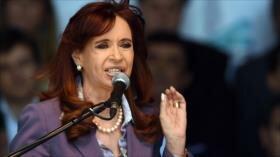 Fernández tilda de 'catástrofe económica' al Gobierno de Macri