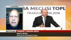 Bigio: Tensión con EEUU empuja a Turquía hacia China, Rusia e Irán