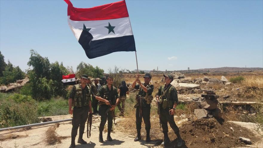 Ejército sirio rodea a EIIL en Al-Sweida y se prepara para asalto final