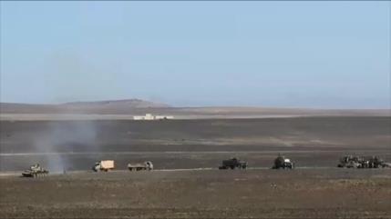 Ejército sirio controla toda la frontera con Jordania