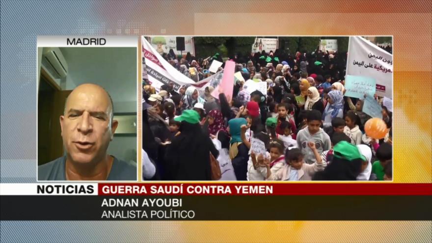 Ayoubi: EEUU apoya infanticidio de Arabia Saudí en Yemen