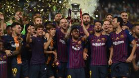 El Barcelona se lleva su décimo tercera Supercopa de España