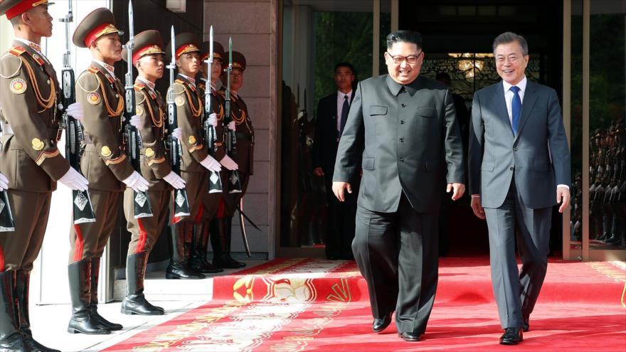 Líderes de las dos Coreas se reunirán en Pyongyang en septiembre