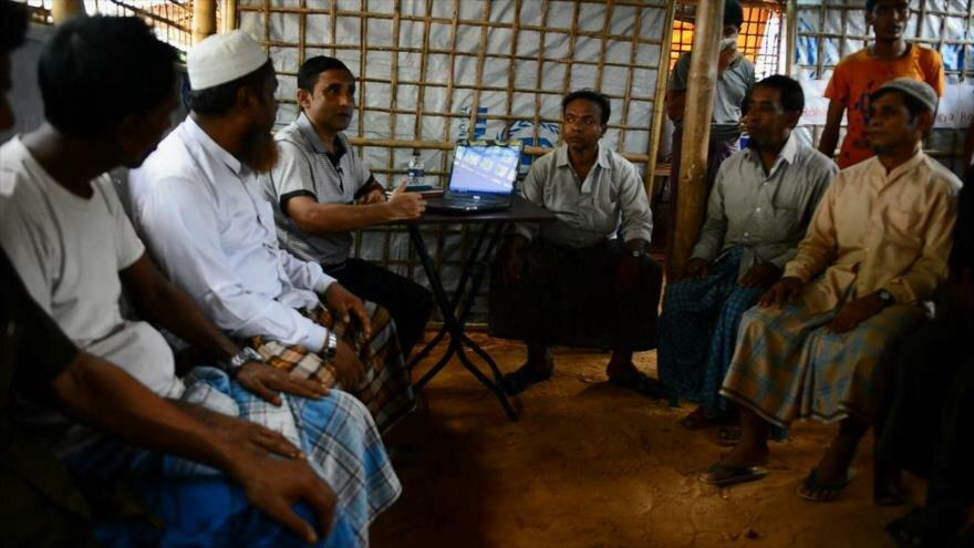 Rohingyas intentan llevar a militares birmanos ante la justicia