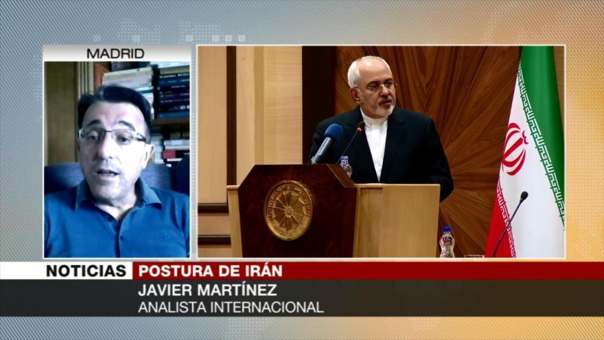 Martínez: Irán no negociará con Trump con una pistola en la sien