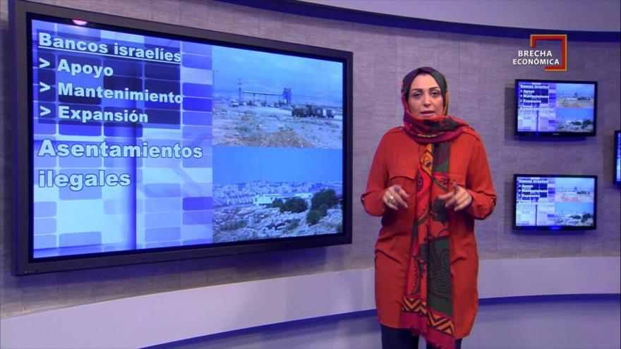 Brecha Económica: Los bancos israelíes se benefician de los asentamientos