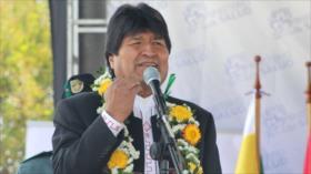 Morales critica a países 'detrás del imperio' en América Latina
