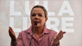 PT: Inhabilitación de Lula impide 'estabilización' en Brasil