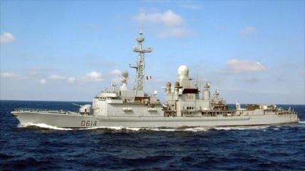 Destructor francés escolta buque de EEUU en estrecho de Ormuz