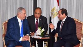 Netanyahu viajó en secreto a Egipto para abordar situación en Gaza