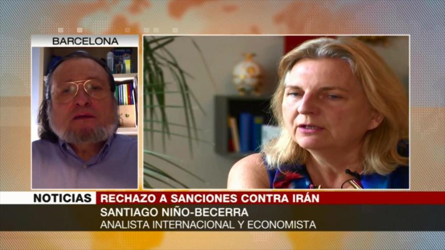 Becerra: EEUU impone sanciones a Irán por sus problemas económicos