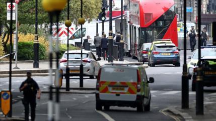 Atropello frente al Parlamento británico deja varios heridos