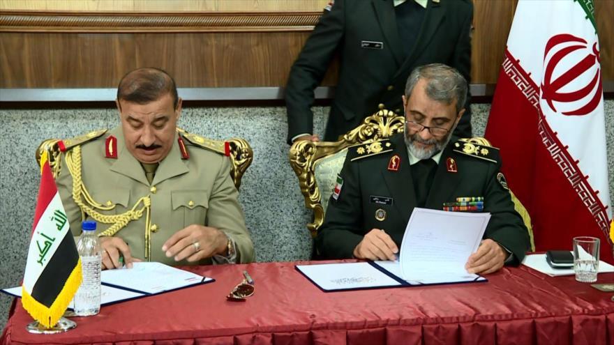 Irán e Irak firman acuerdo de cooperación en seguridad fronteriza