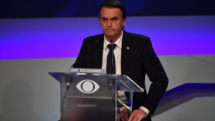 Declaraciones antipalestinas de 'Trump brasileño' causan polémica
